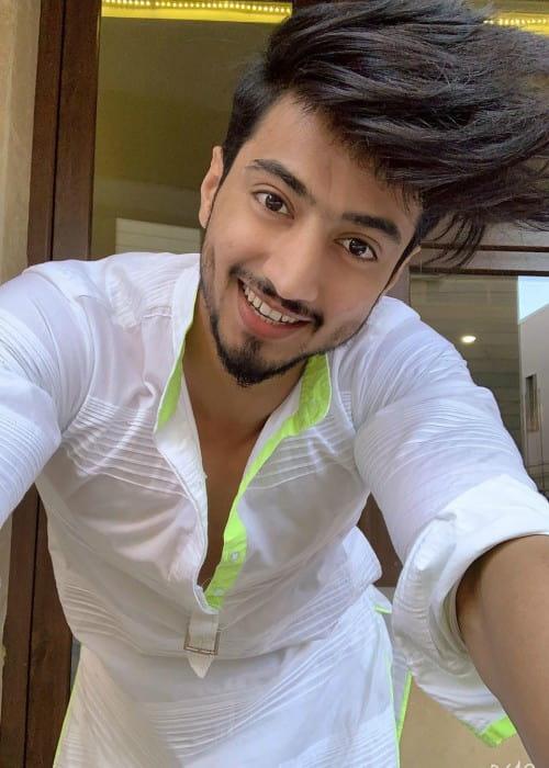 Faisal Shaikh in a selfie in September 2019