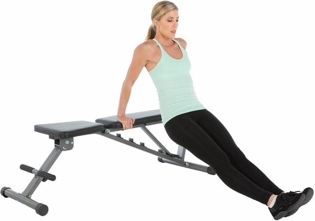Fitness Reality 2000 Super Max XL Weight Bench Workout