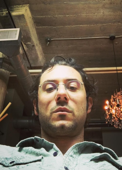 Hale Appleman as seen in a selfie taken in May 2016