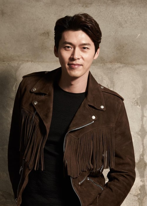 Hyun Bin as seen in a picture taken in February 2017