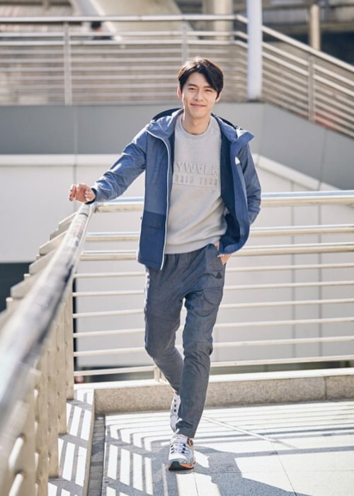 Hyun Bin as seen in a picture taken in March 2016