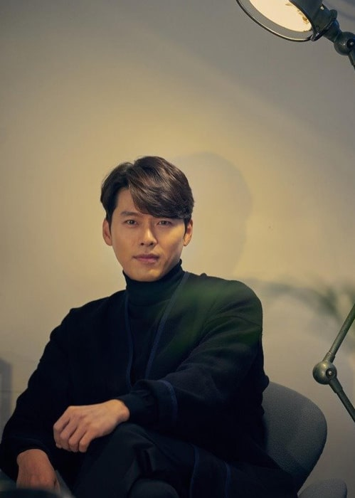 Hyun Bin as seen in a picture taken in October 2018