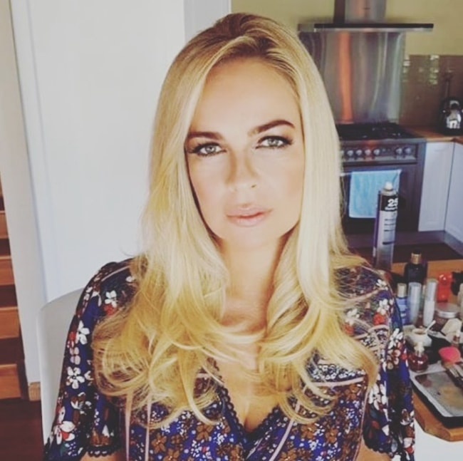 Imogen Bailey as seen in an Instagram picture in March 2018