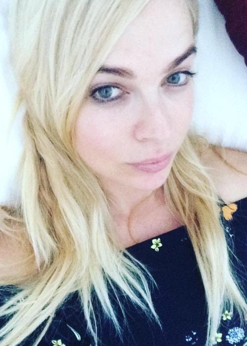 Imogen Bailey as seen in an Instagram selfie in December 2016