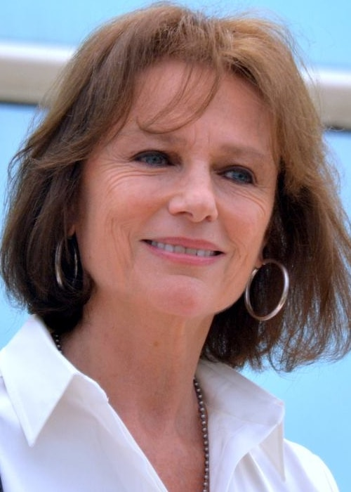 Jacqueline Bisset as seen in a picture taken at the Cannes Film Festival in May 2017