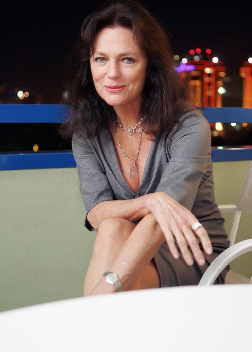 Jacqueline Bisset as seen in a picture taken in Almaty, Kazakhstan in September 2007
