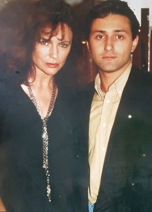 Jacqueline Bisset as seen in a picture with Daniel Rinaldi which was taken in the past