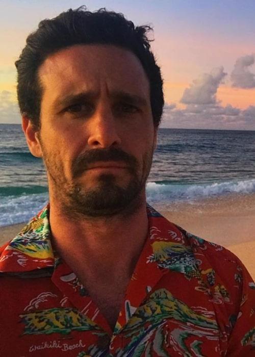 James Ransone as seen in a selfie taken in Hawaii in August 2019