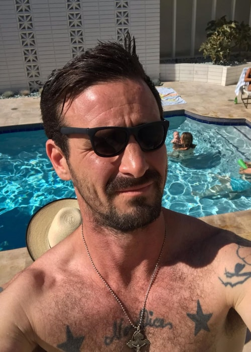 James Ransone as seen in selfie taken in July 2019