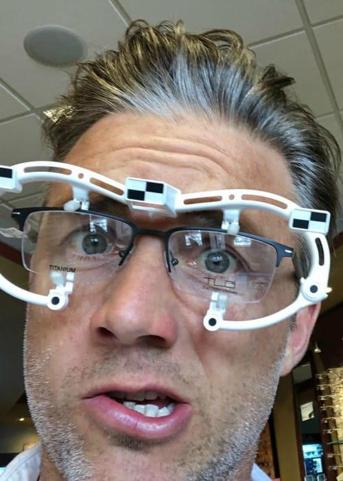 Jeff Hephner in an Instagram selfie as seen in April 2019