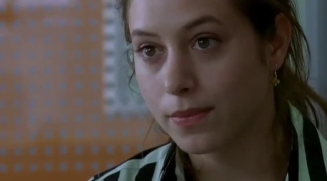 Jodhi May as Angela in the 2005 film On a Clear Day