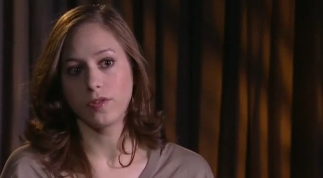Jodhi May during an interview in 2005