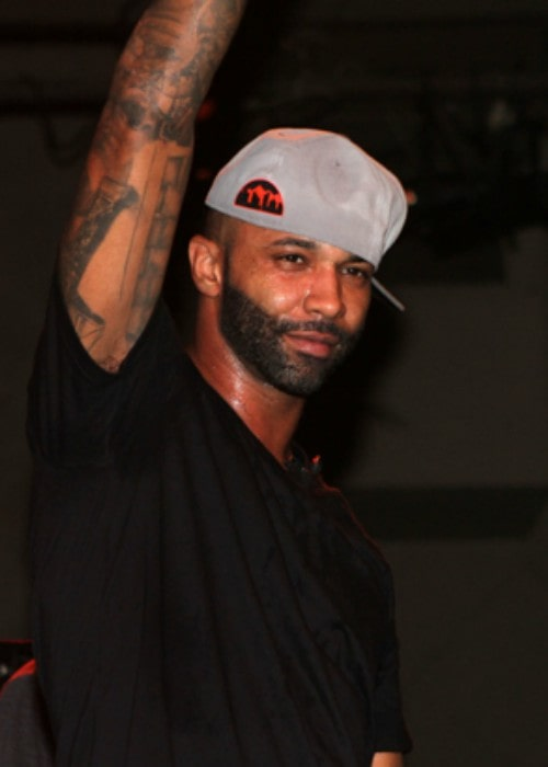 Joe Budden as seen in 2012