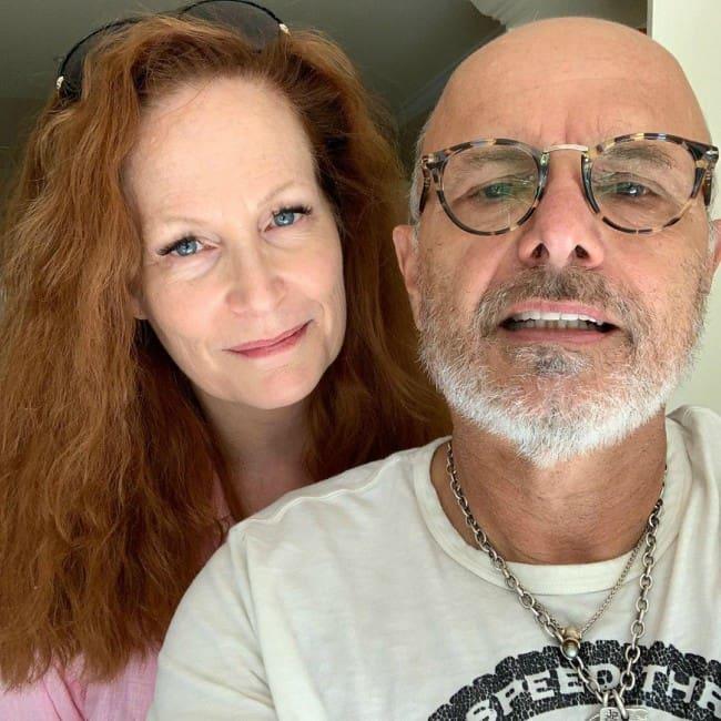 Joe Pantoliano and Nancy Sheppard in a selfie as seen in August 2019