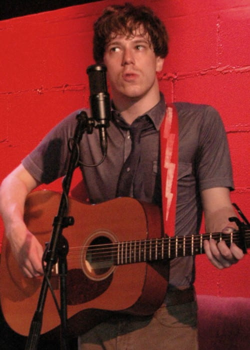 John Gallagher Jr. during a performance at Rockwood Music Hall in September 2007