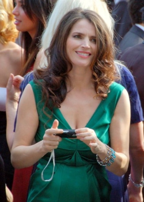 Julia Ormond as seen in a picture taken while she attended the Cannes Film Festival in Cannes, France in 2008