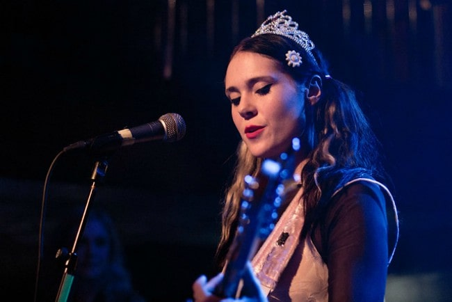 Kate Nash during a performance in November 2012