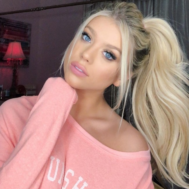 Kaylyn Slevin as seen in February 2019