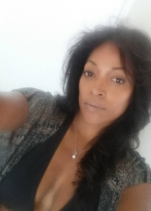 Kellita Smith as seen in a selfie taken in August 2016