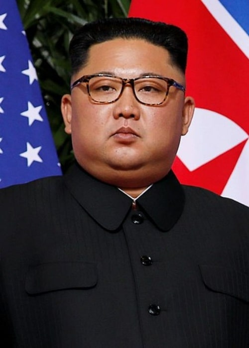 Kim Jong-un as seen on the red carpet during the Singapore summit in June 2018