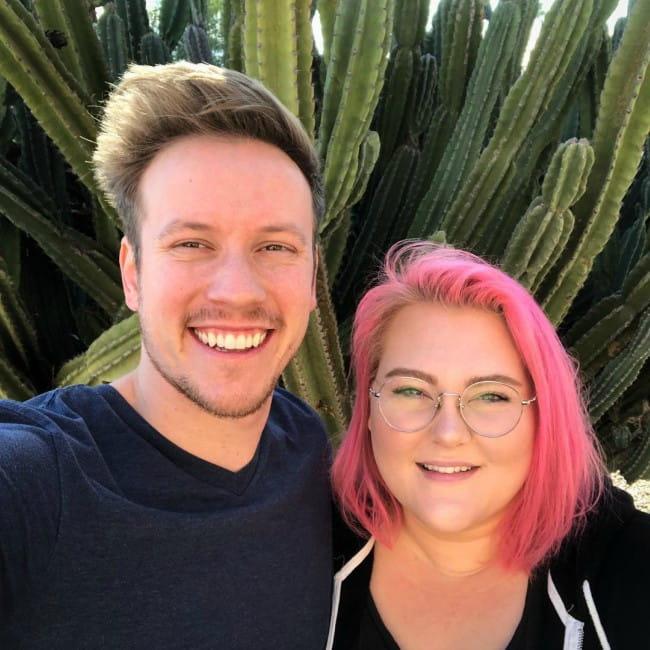 Lauren Mae and Sam Keller as seen in December 2018