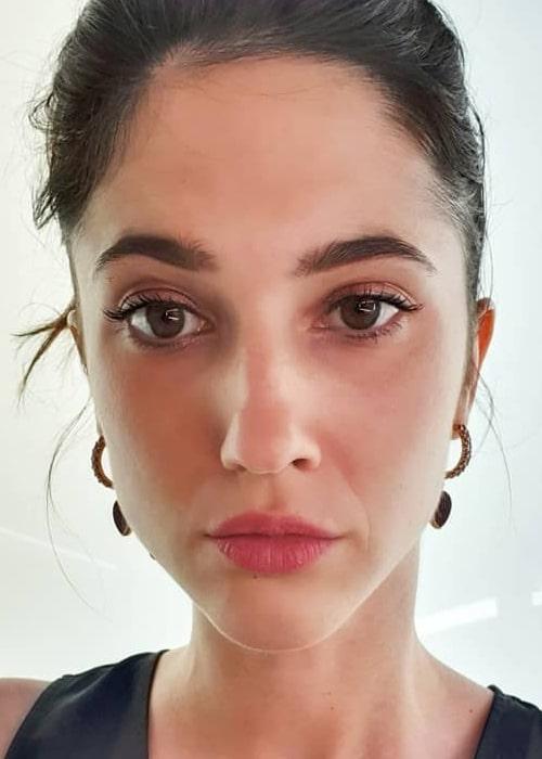 Lodovica Comello as seen in a selfie taken in July 2019