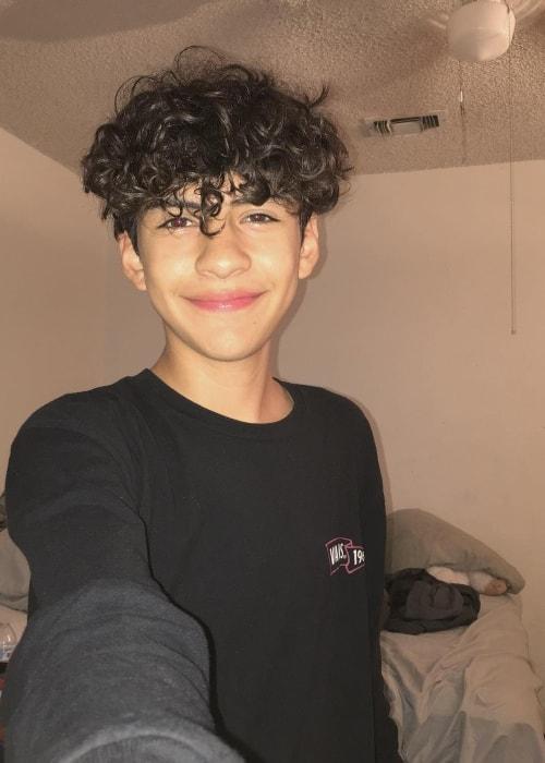 Marc Gomez as seen in an Instagram selfie in October 2018