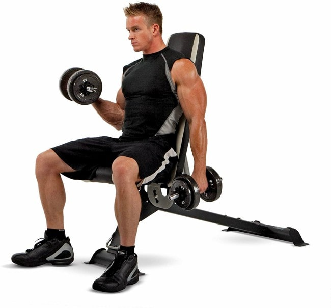 Marcy Adjustable Utility Bench SB-670 Workout