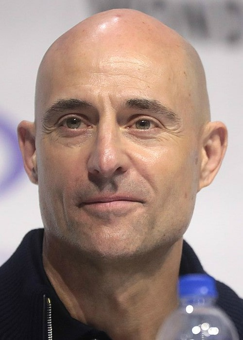 Mark Strong at the 2019 WonderCon in Anaheim
