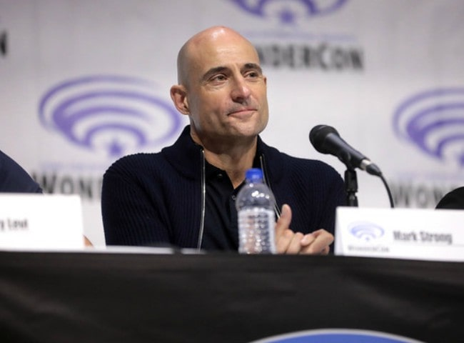 Mark Strong at the 2019 WonderCon