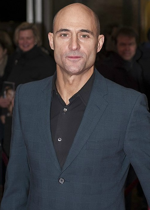Mark Strong during an event in February 2011