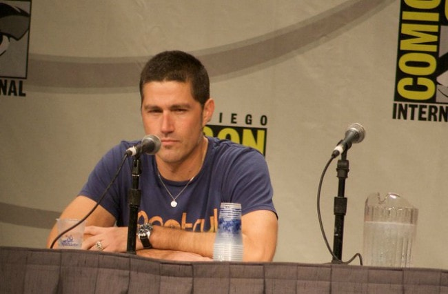 Matthew Fox at the Comic-Con in July 2008