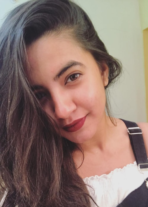 Meera Deosthale as seen in a selfie taken in March 2019