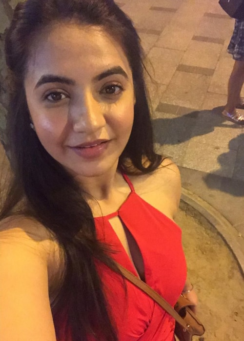 Meera Deosthale as seen in a selfie taken in Paris, France in June 2017