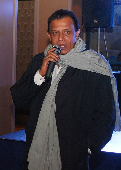 Mithun Chakraborty as seen in May 2013