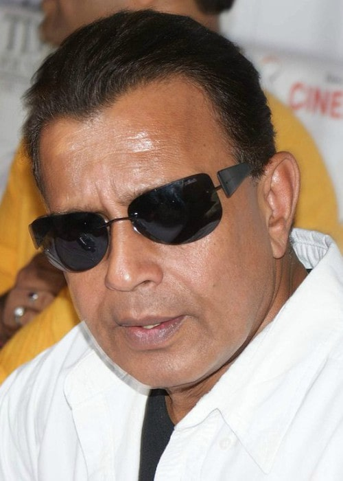 Mithun Chakraborty during an event in July 2009
