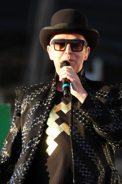 Neil Tennant at the 2011 Sydney Resolution Concert