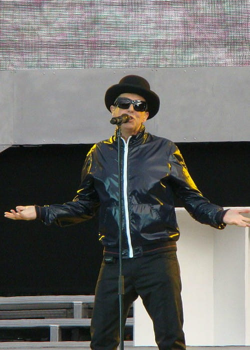 Neil Tennant during a performance in May 2011