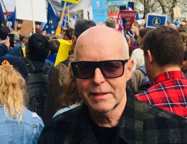 Neil Tennant in an Instagram post as seen in March 2019