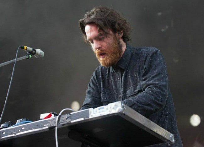 Nick Murphy during a performance at the Positivus Music Festival in 2014
