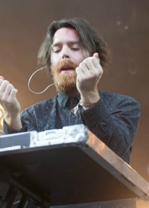 Nick Murphy during a performance in July 2014