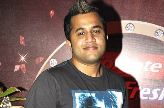 Omi Vaidya at Colgate MaxFresh party