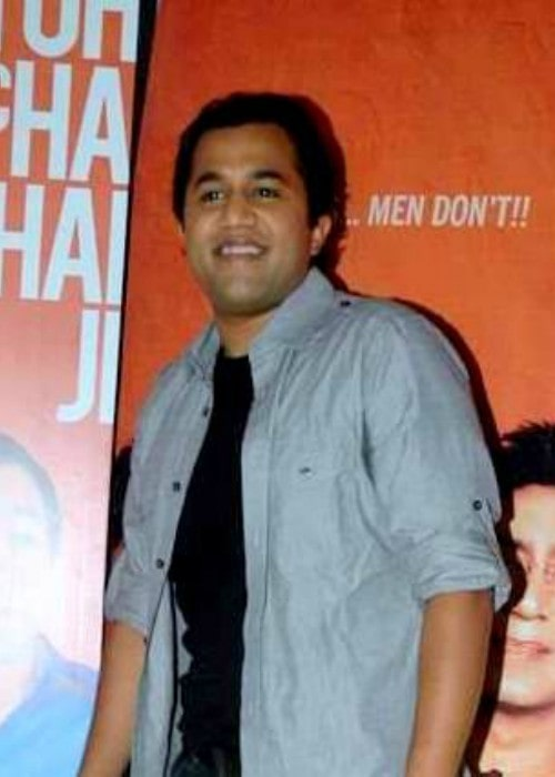 Omi Vaidya while promoting Dil Toh Baccha Hai Ji in 2011