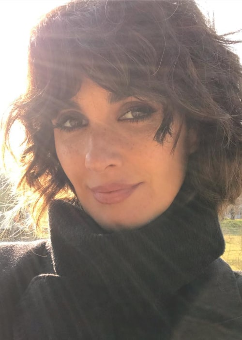 Paz Vega as seen in a selfie taken in January 2019