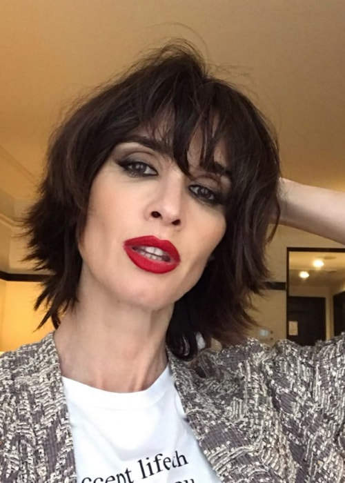 Paz Vega as seen in a selfie taken in June 2019