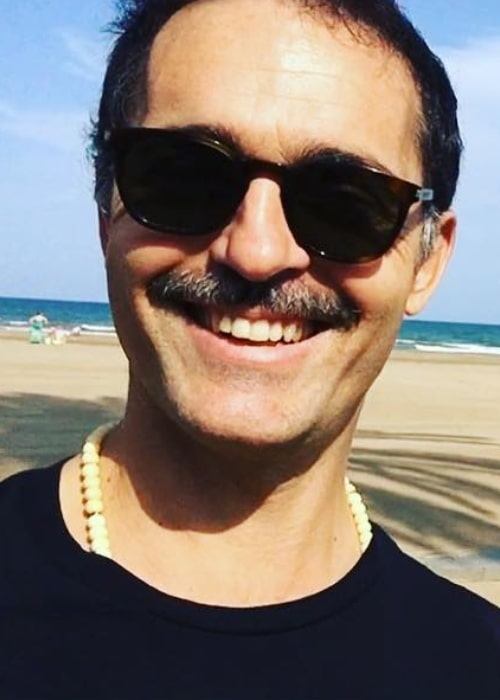 Pedro Alonso as seen while taking a selfie in September 2018