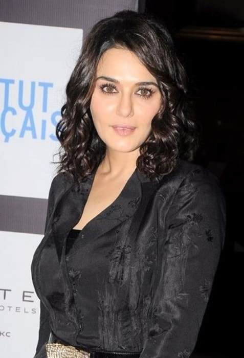Preity Zinta as seen at the Ishkq In Paris-Isabelle Adjani event in June 2012
