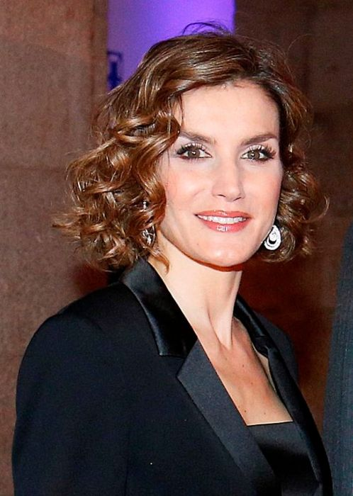 Queen Letizia of Spain at the fifteenth anniversary celebration of 20 Minutes in November 2015