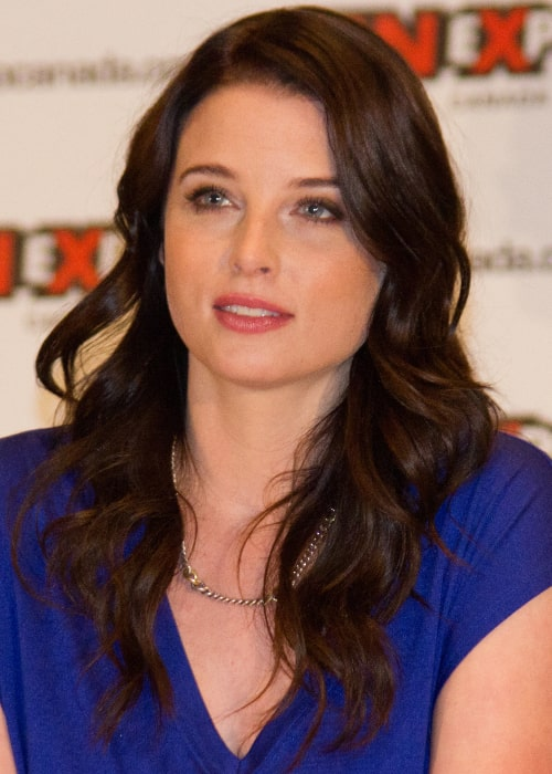 Rachel Nichols as seen in a picture taken at the 2012 Fan Expo in Canada