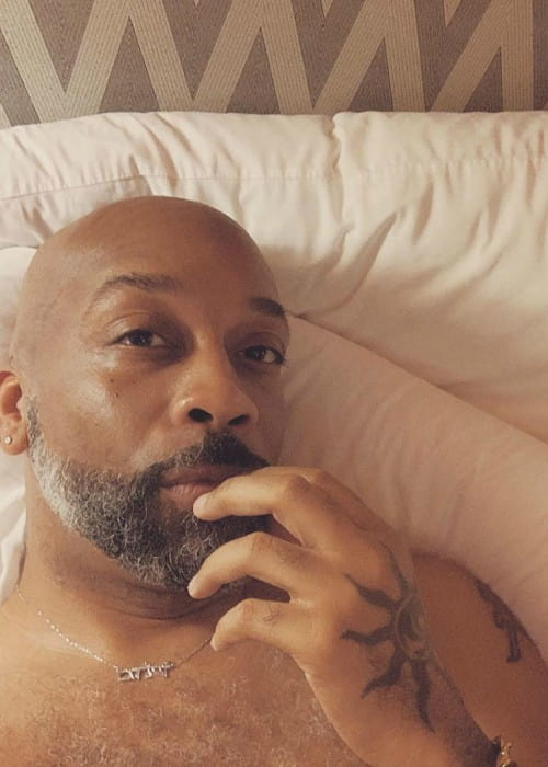 Rahsaan Patterson in a selfie in August 2019
